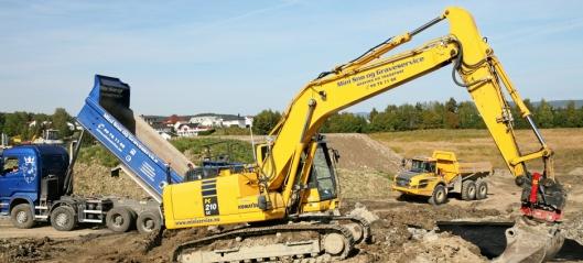 Sterk vekst i anleggssektoren