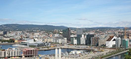 Vil bruke 74 milliarder i Oslo