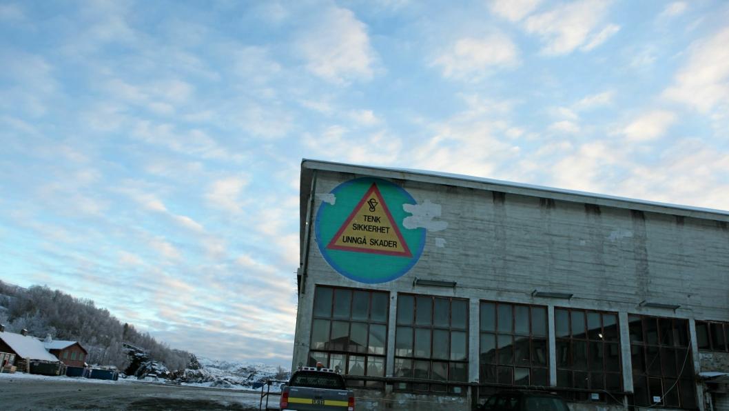 Det kan bli stille fremover i Sydvaranger Gruve, men julelønna er i alle fall reddet.