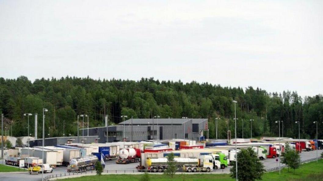 En frykter for menneskesmugling innen tungtransporten.