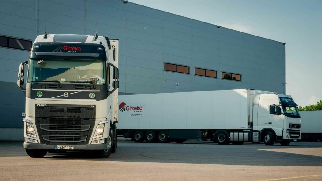 Girtekas biler kommer til å bidra til at laks fraktes ut av Norge.