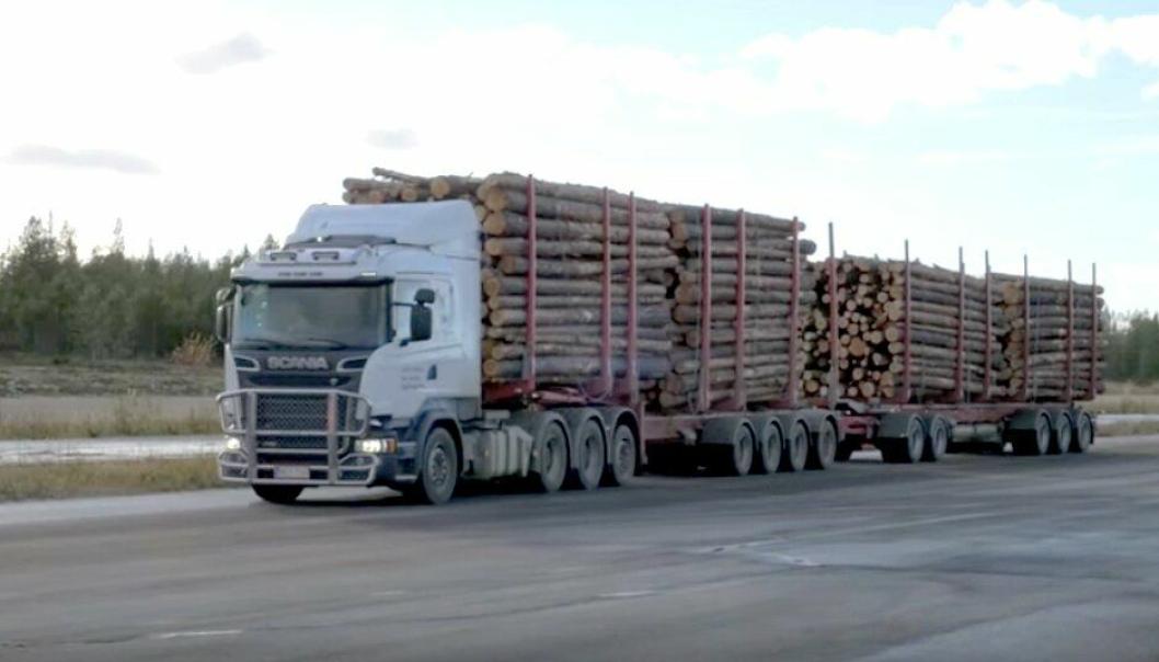 Bilde fra video: Youtube - Scania Group