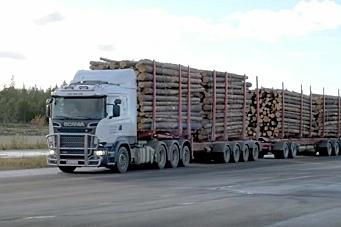 104-tonns vogntog testes i Finland