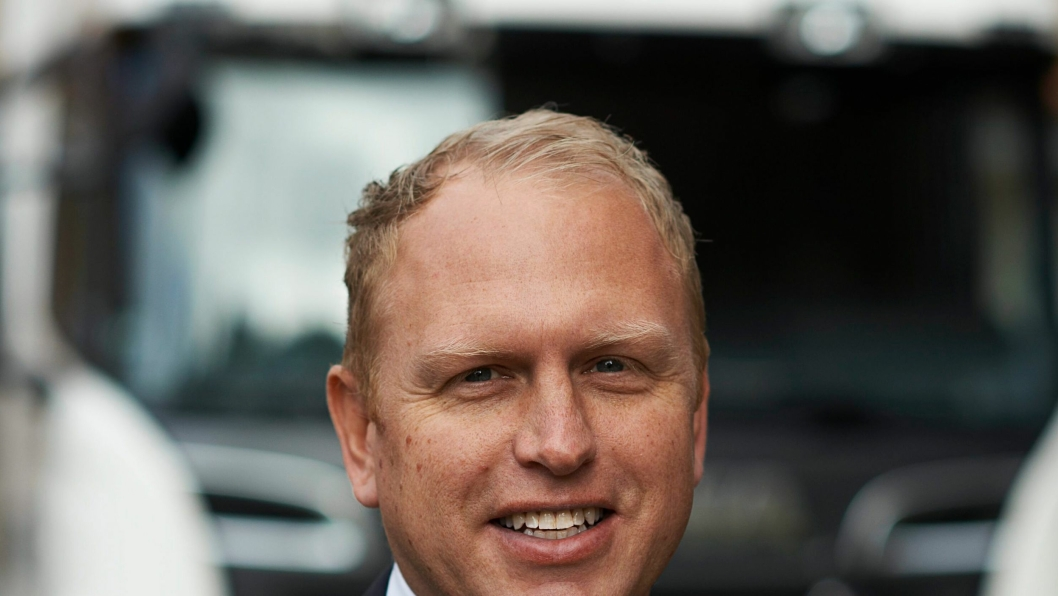 Henrik Henriksson er fra 1. januar ny toppsjef hos Scania.