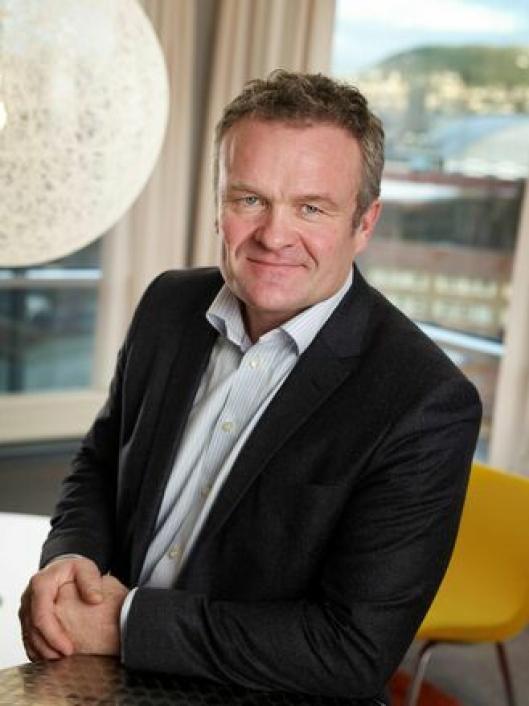 Administrerende direktør i NCC Construction, Håkon Tjomsland.