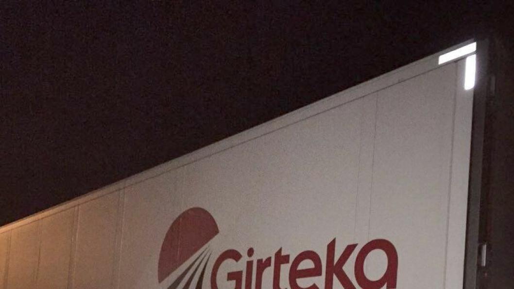 Girteka-bilen var i prikkfri stand, men det koster likevel både tid og penger å ikke stanse for kontroll.