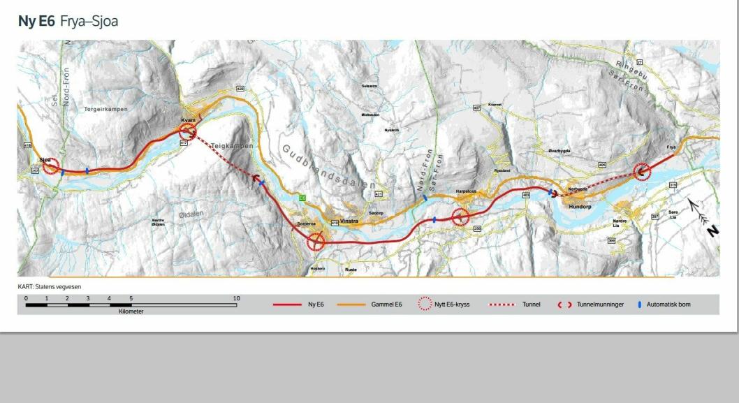 Aventi er innstilt til å installere elektro i de to nye tunnelene mellom Frya og Sjoa.