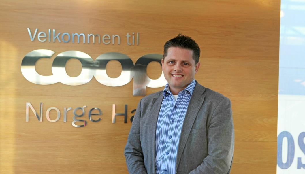 RASJONALISERER LOGISTIKKEN: Eirik Borge er prosjektleder for logistikkintegrasjonen i «nye» Coop.