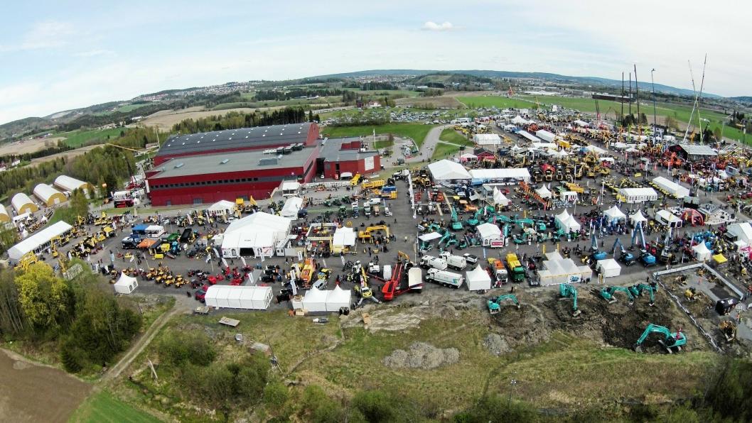 227 utstillere fylte opp Hellerudsletta i år.