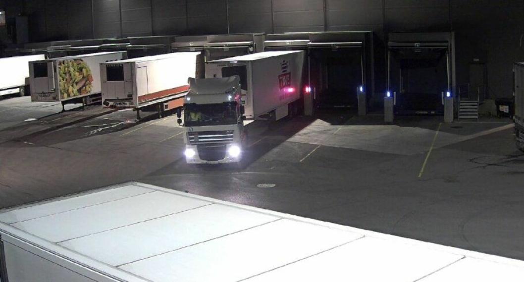 Bilde hentet fra overvåkingsvideo lagt ut på VGTV.
