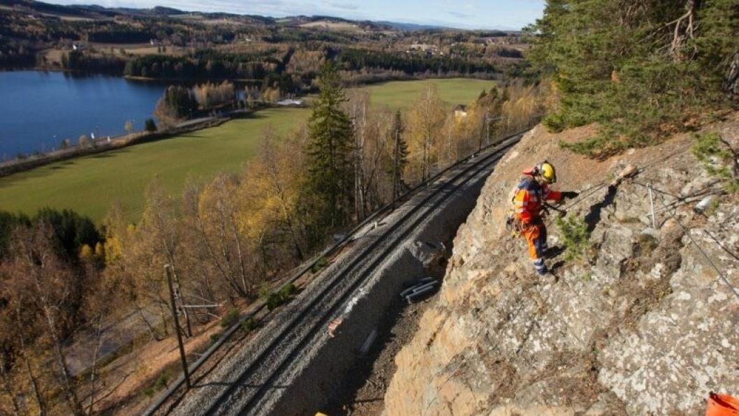 Bergensbanen er 371 kilometer lang fra Hønefoss til Bergen.