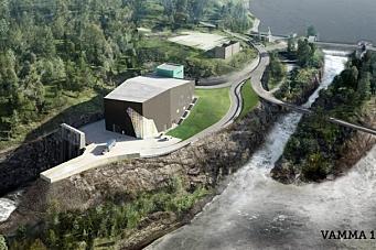 AF bygger kraftverk for Hafslund