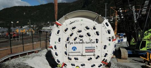 Her er TBM-en på plass i Bergen