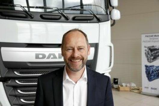 Adm. direktør Kai V. Abrahamsen i DAF-importør Autonor.