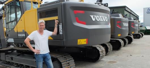 14 Volvo til Isachsen