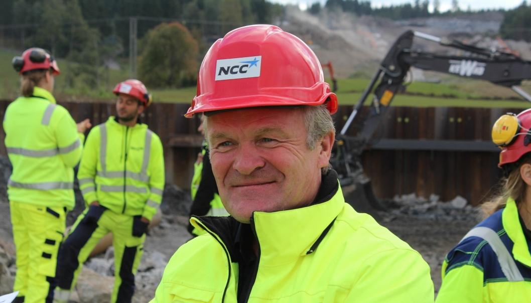 NCCs administrerende direktør, Håkon Tjomsland, ønsker å fokusere på seriøs drift.