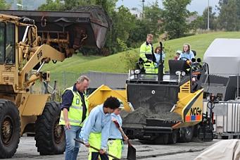 Fremtidens asfaltarbeidere