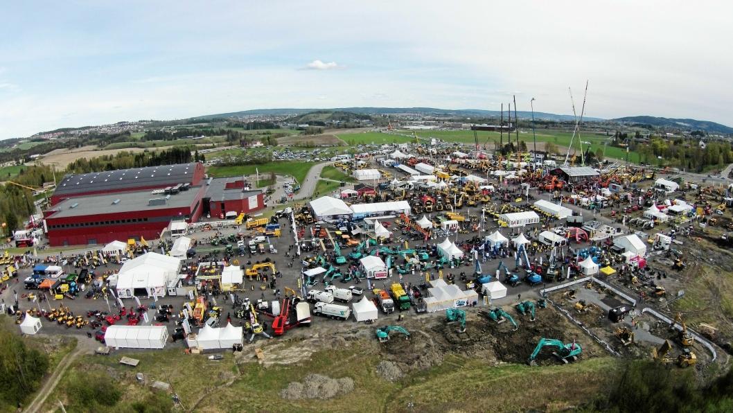 Vei og Anlegg ble arrangert i mai på Hellerudsletta, og har bidrat til en økning i maskinsalget i andre kvartal.