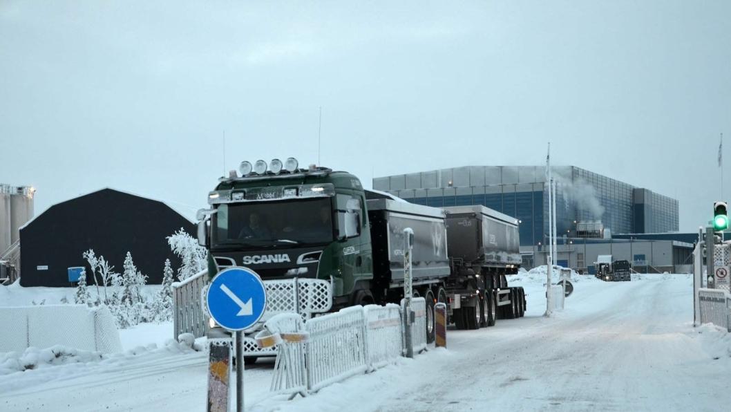 Det svenske selskapet Abecede har kjøpt anrikningsverket (i bakgrunnen) og «deler av logistikkløsningen» av konkursboet etter Northlens Resources.