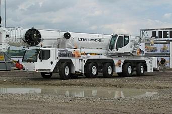 Ny 250-tonner med fem aksler