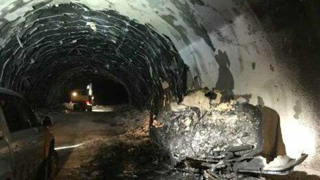 Tunnelen åpnes ikke for offentlig ferdsel i år.
