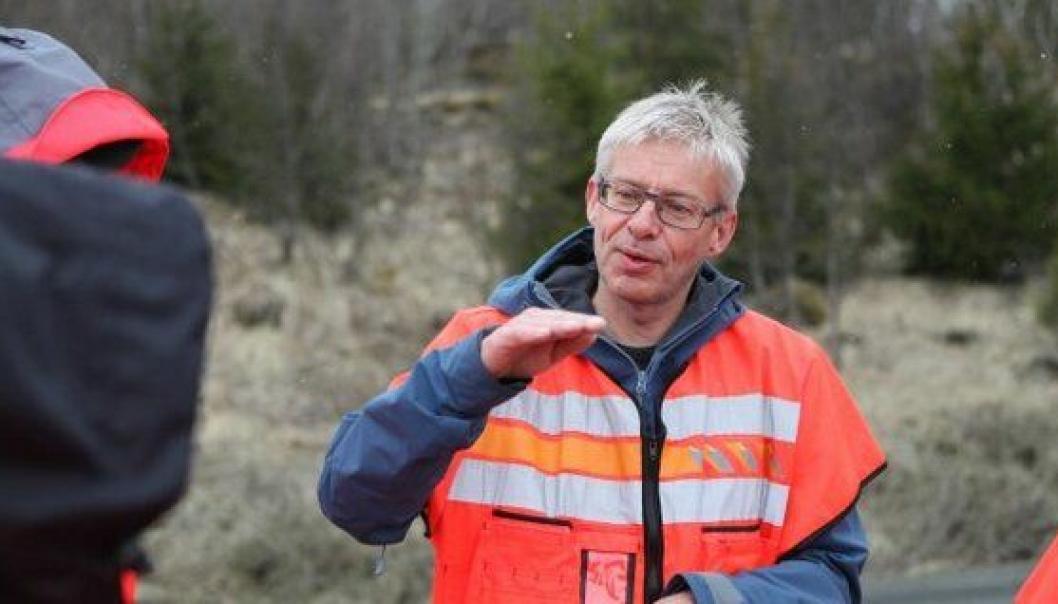 Bård Nyland er prosjektleder for E6 Helgeland.