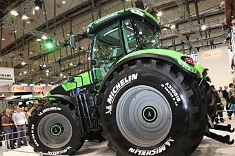 Verdens største traktordekk