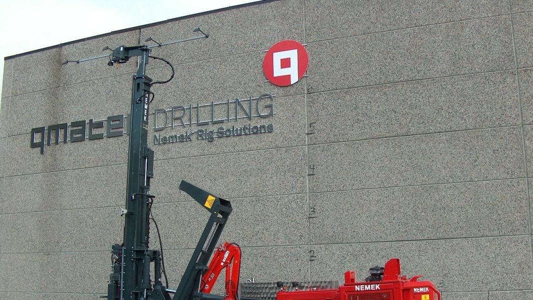 KLAR FOR ZÜBLIN: Qmatec skal levere Nemek 510 TS terrengrigg til den tyske entreprenøren Züblin.