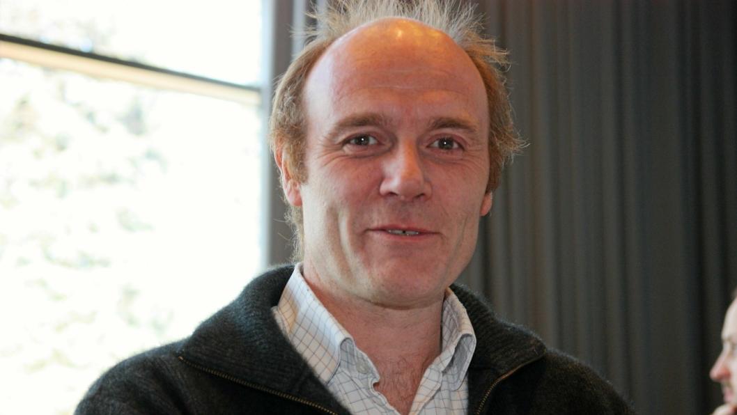 Roar Johansen jobber for at Oslo Havn velger sjøveien.