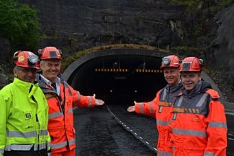 - Velkommen til landets sikreste tunnel