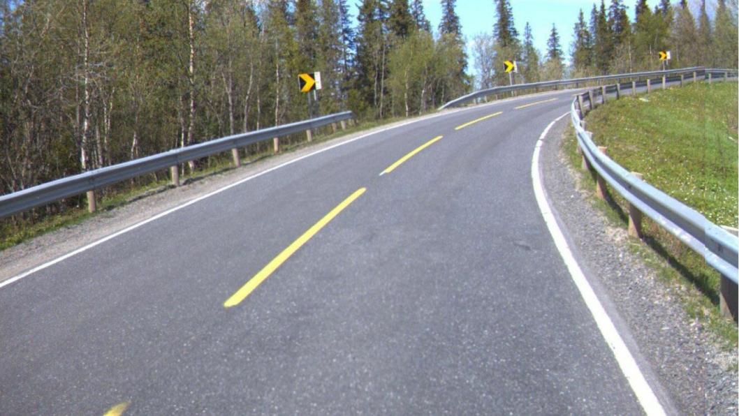 E6 Helgeland Sør består av totalt rundt 80 km vei.