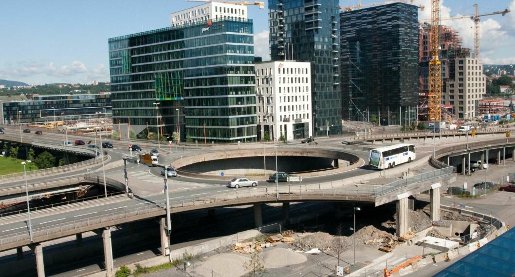 Bispelokket i Oslo juli 2011.