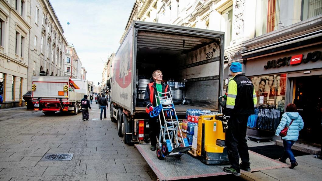 Varelevering i Oslo og kjøretøy som benyttes til utøvende næringsvirksomhet, for eksempel håndverkere, vil ikke omfattes av dieselforbudet.