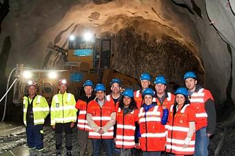 - Norske tunneldrivere holder nær trippelt tempo