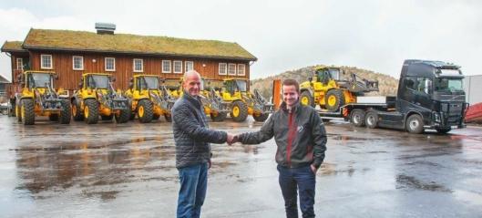 Stor Volvo-handel i sør