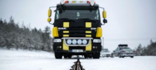 Lager elektrisk vei for lastebiler
