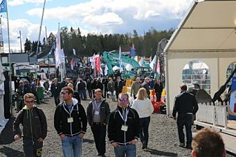 Flere besøkende på Vei og Anlegg
