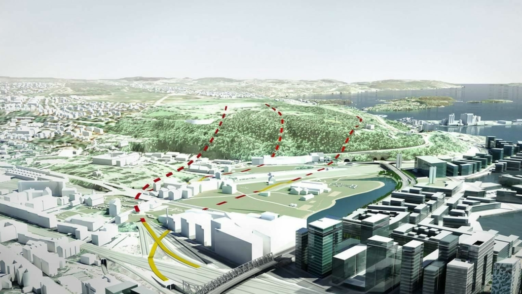 Innføringen av Follobanen til Oslo S er et komplisert arbeid med mange hensyn å ta.