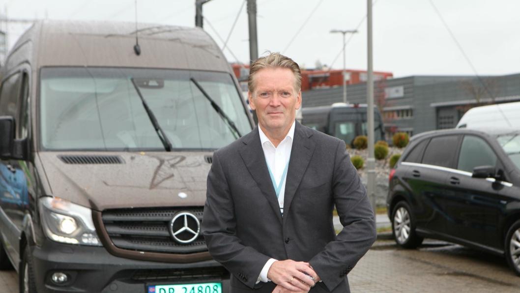 Konsernsjef i Bertel O. Steen, Bjørn Maarud, er fornøyd med sitt første hele år som sjef. - Målet er å være Norges beste bilhus i 2018 med minst 20 prosent markedsandel, sier han.
