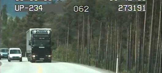 Her krasjer vogntoget nesten med UP