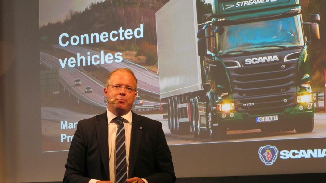 Martin Lundstedt går fra Scania til Volvo.