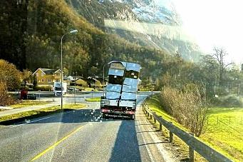 La seg på hjul etter dette vogntoget