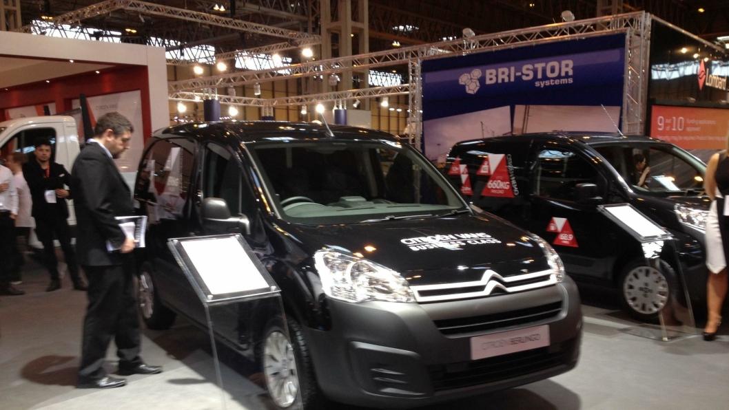 En ansiktsløftet Citroën Berlingo ble tirsdag avduket i Birmingham.