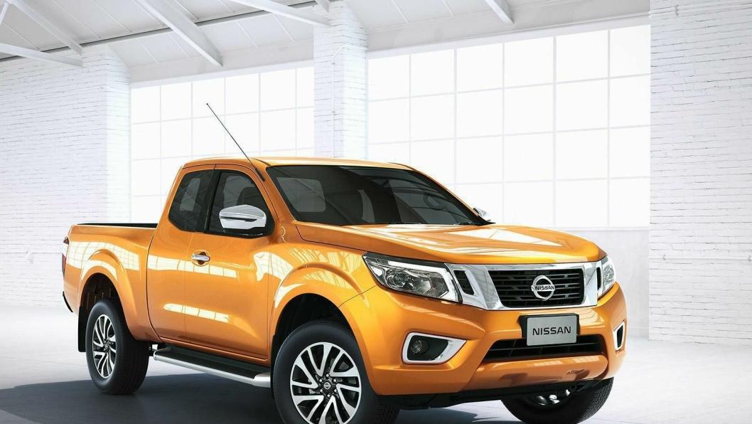 Daimler tar utgangspunkt i Nissans NP300 Navara Frontier når konsernet skal utvikle sin egen pickup.