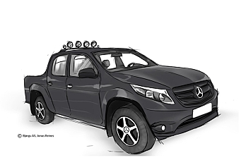 Mercedes inn i pickup-segmentet