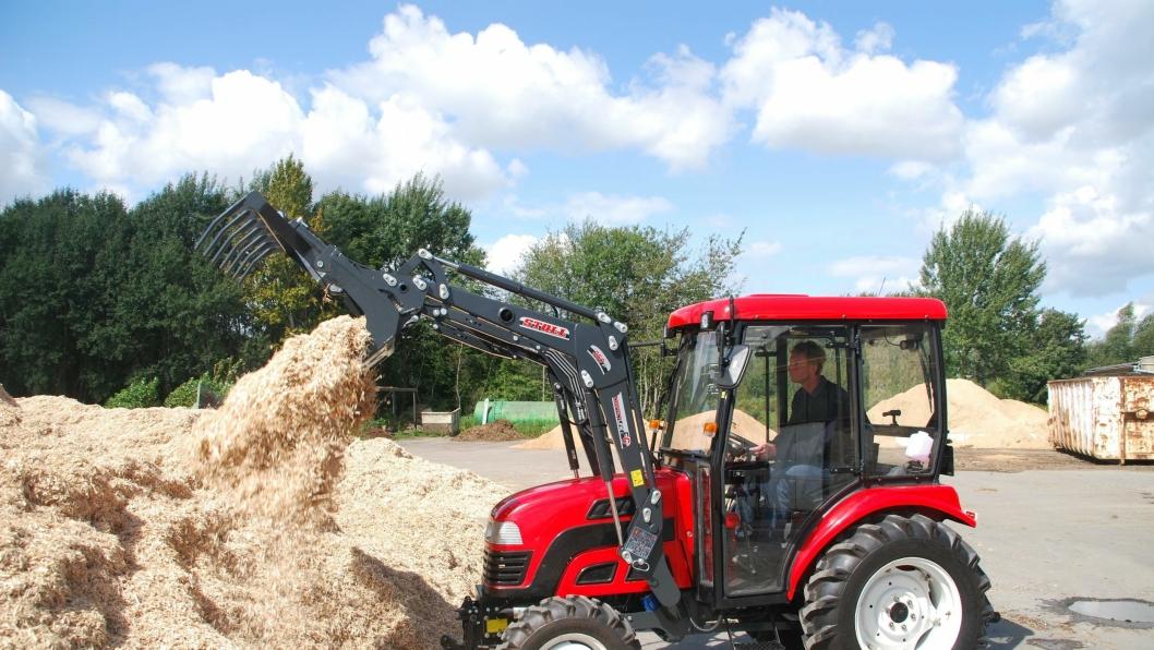 Nye Dong Feng G2 traktor klar for Norge.