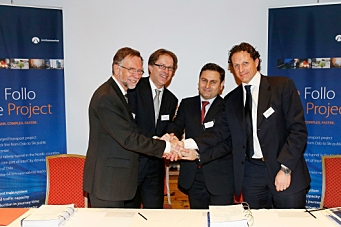Signerte Norges største kontrakt