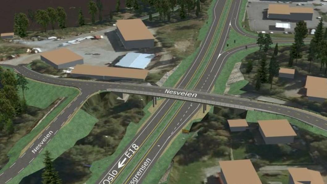 Veien fra Ørje til Rikgsgrensen skal bygges som tofeltsvei med midtdelere, fartsgrense på 90 km/t og ett forbikjøringsfelt i hver retning.