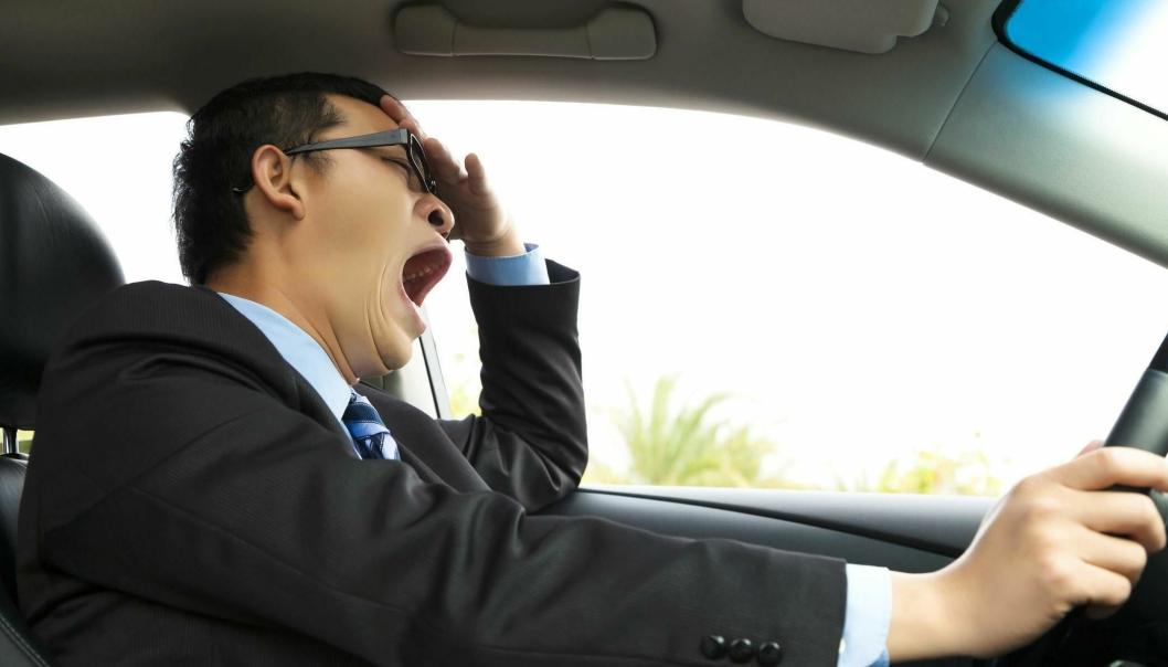 Sover du dårlig er du en dårligere sjåfør. Personer som lider av søvnapné har 6-7 ganger så høy risiko for å bli innblandet i en trafikkulykke.