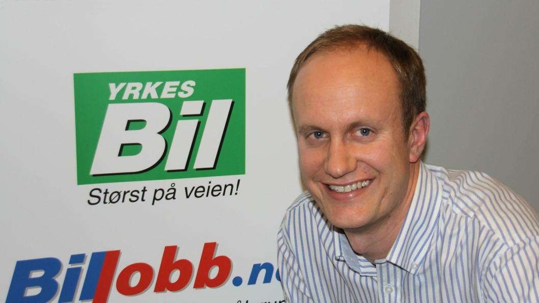Brede Høgseth Wardrum, ny redaktør i Yrkesbil.